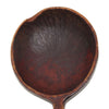 Antique hand carved wooden ladle, birch, hook handle (c late 1800s) - Selective Salvage