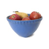 Vintage stoneware mixing bowl, bright blue (c 1930s) - Selective Salvage