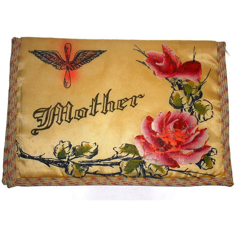 "Vintage WWII Army Air Corp military souvenir,  ""Mother"" bible cover (c 1940s) - Selective Salvage"