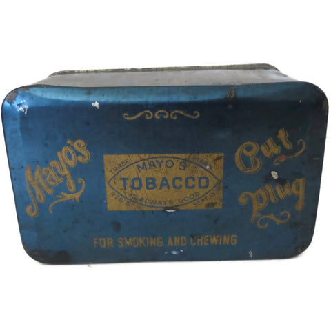 "Vintage ""Mayos Cut Plug"" tin (c 1920s) - Selective Salvage"
