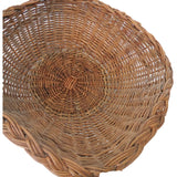 Vintage willow serving basket, American (c 1920s) - Selective Salvage