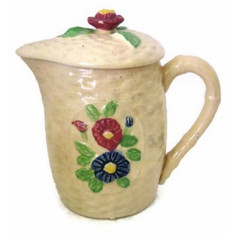 Vintage cottage style cream pitcher, made in Japan (c 1940s) - Selective Salvage