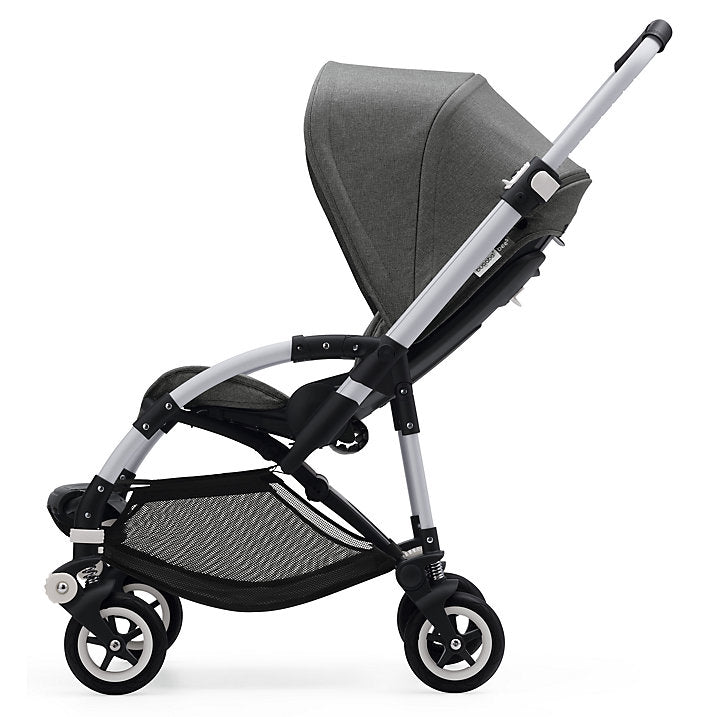 bugaboo bee5 with grey melange canopy