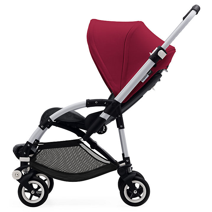 bugaboo bee5 with ruby red canopy