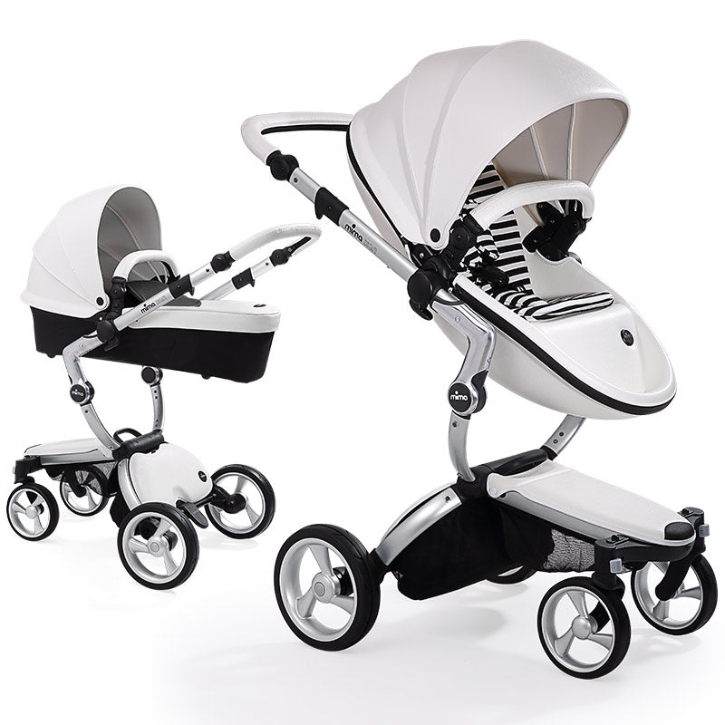 Mima Xari Stroller with Carrycot and Seat Unit