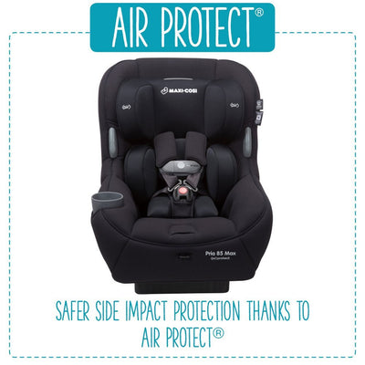 Maxi-Cosi Pria™ 85 Max Nomad Collection Convertible Car Seat Air Protect Feature