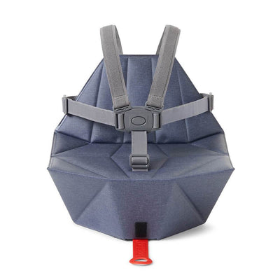 Bombol Pop-Up™ Booster & Carry Bag/Seat Cover in Denim Blue