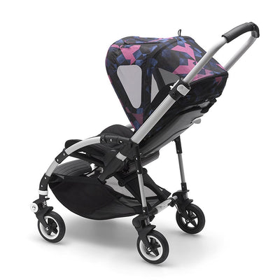 Bugaboo Bee⁵ Breezy Sun Canopy in Birds on Bee5 Stroller