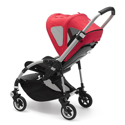 Bugaboo Bee⁵ Breezy Sun Canopy in Neon Red on Bee5 Stroller