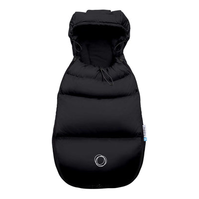 Bugaboo Universal Footmuff in Black Front View