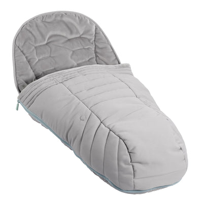 iCandy Peach Duo Pod in Beluga Black as a footmuff
