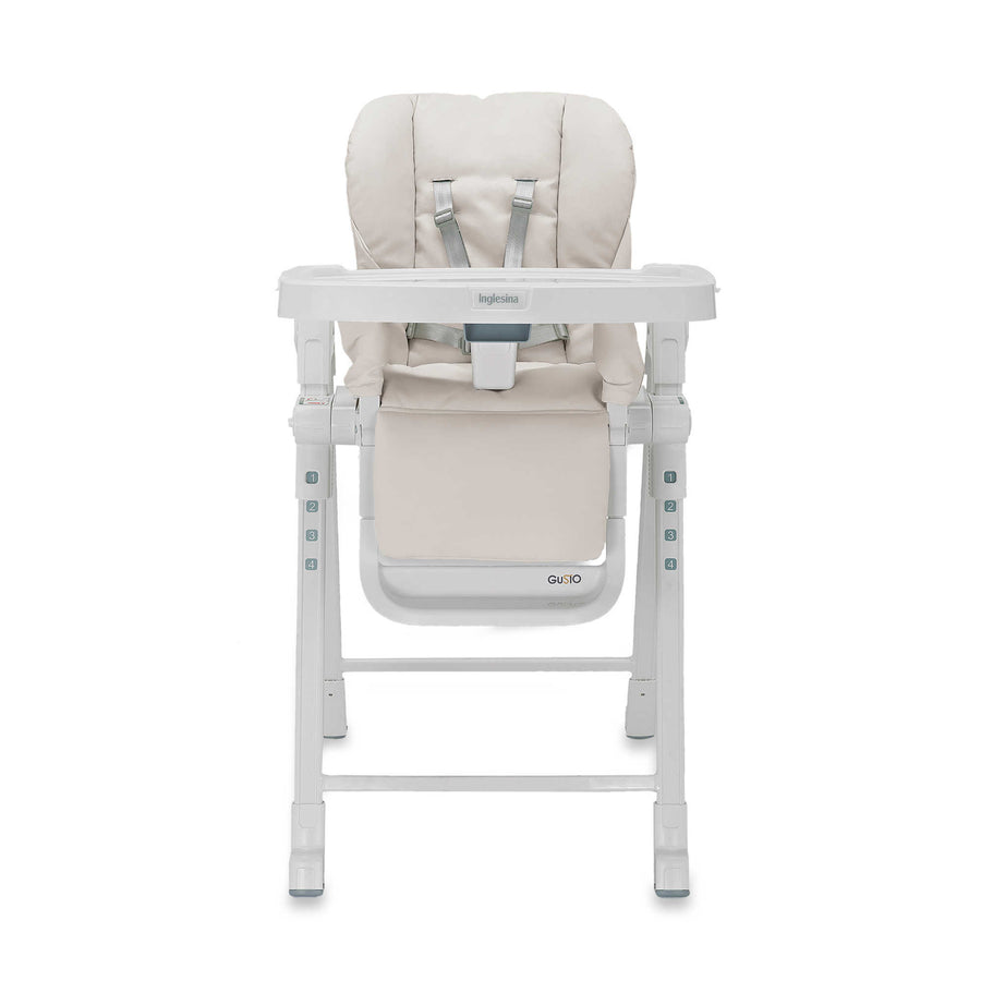 Inglesina Gusto High Chair In Cream