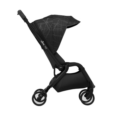 Mima Zigi 3G Stroller in Ebony side view
