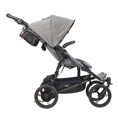 Mountain Buggy Duet Luxury Herringbone Double Stroller side view