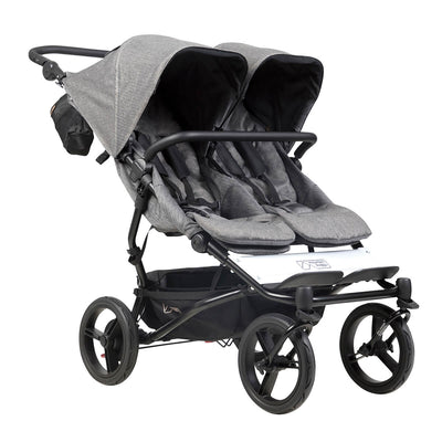 Mountain Buggy Duet Luxury Herringbone Double Stroller