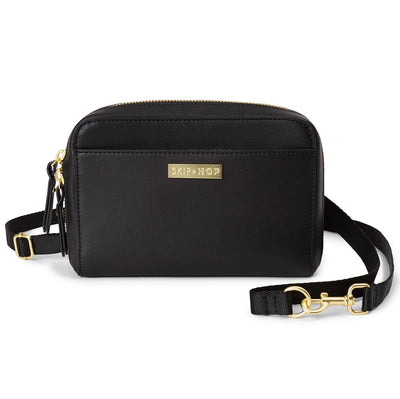 Skip Hop Greenwich Convertible Hip Pack in Black