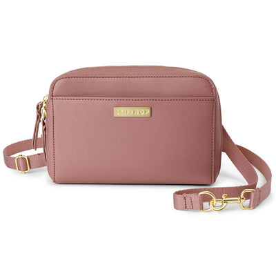 Skip Hop Greenwich Convertible Hip Pack in Dusty Rose