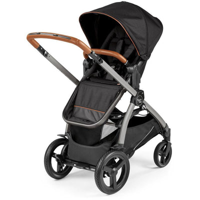 Agio by Peg Perego Z4 Reversible Stroller in Agio Black with seat reversed