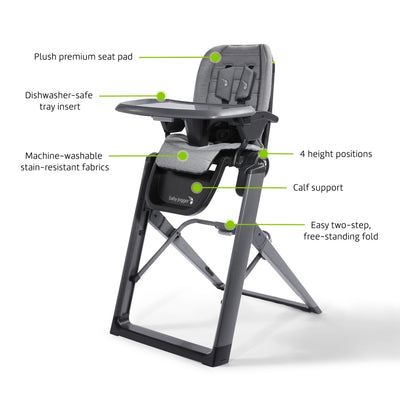 Baby Jogger City Bistro™ High Chair features