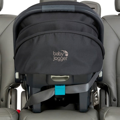 Baby Jogger City Go® 2 infant car seat in the car