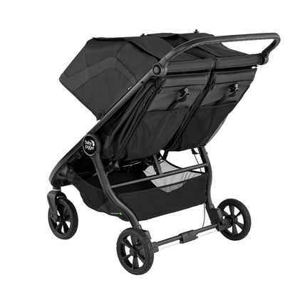 Baby Jogger City Mini® GT2 Double Stroller in Jet back view