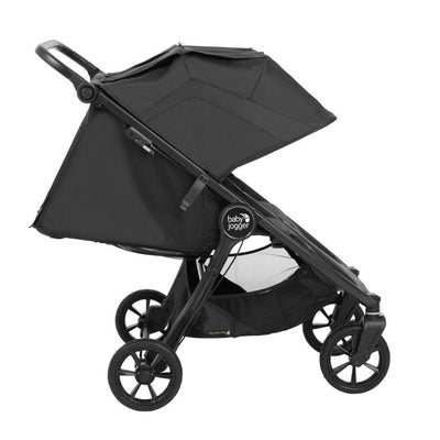 Baby Jogger City Mini® GT2 Double Stroller in Jet side view