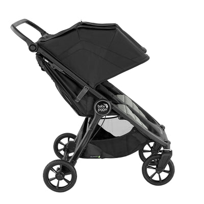 Baby Jogger City Mini® GT2 Double Stroller in Slate side view