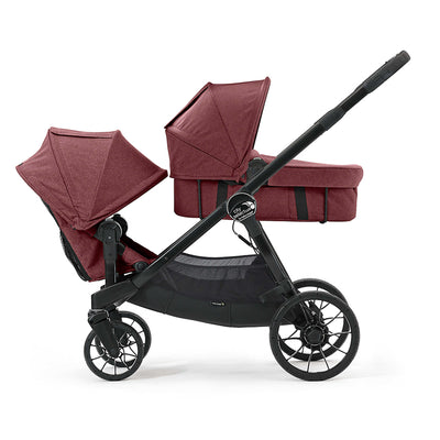 Baby Jogger City Select® LUX Bassinet Kit in Port on City Select LUX stroller