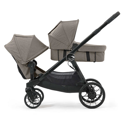 Baby Jogger City Select® LUX Bassinet Kit in Taupe on City Select LUX stroller