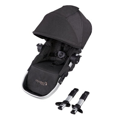 Baby Jogger 2019 City Select® Second Seat Kit in Jet with mounting brackets