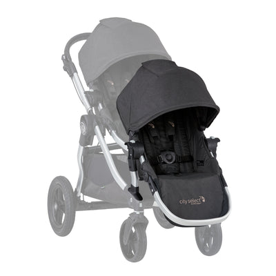 Baby Jogger 2019 City Select® Second Seat Kit in Jet on stroller