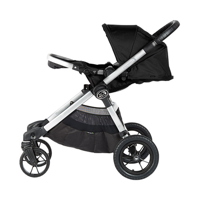 Baby Jogger 2019 City Select® Stroller in Jet with seat reclined