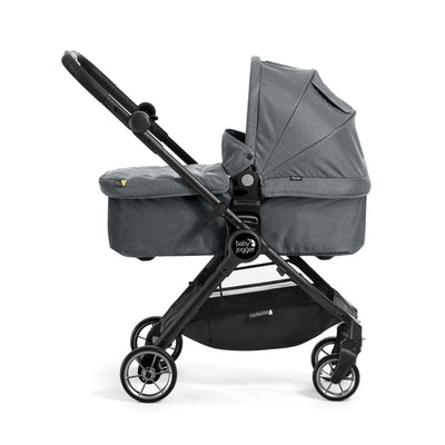 Baby Jogger City Tour LUX Foldable Pram in Slate on City Tour Lux Stroller