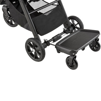 Baby Jogger 2019 Glider Board attached to stroller