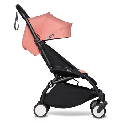 Babyzen YOYO Leg Rest attached to stroller in seated position