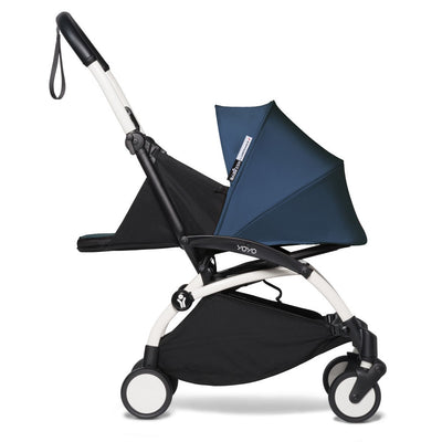 Babyzen YOYO² Complete Stroller Bundle by Air France with White Frame as newborn stroller