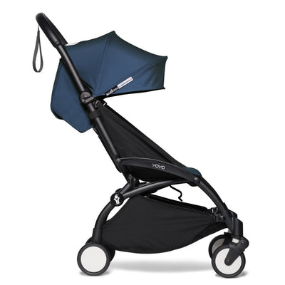 Babyzen YOYO² Complete Stroller Bundle by Air France with Black Frame as toddler stroller