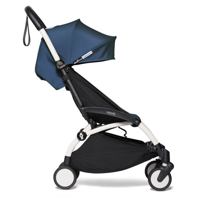 Babyzen YOYO² Complete Stroller Bundle by Air France with White Frame as toddler stroller