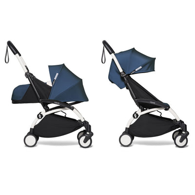 Babyzen YOYO² Complete Stroller Bundle by Air France with White Frame