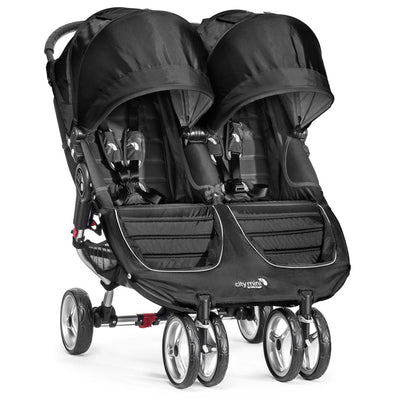 Baby Jogger City Mini® Double Stroller in Black/Gray