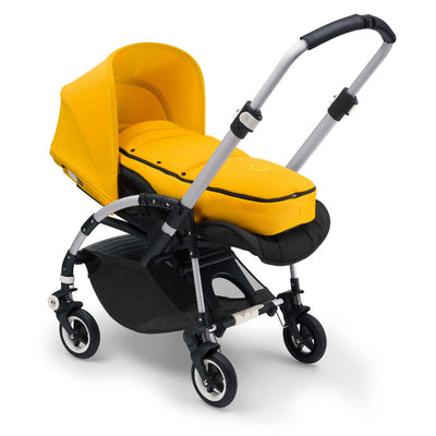 Bugaboo Bee Baby Cocoon in Sunrise Yellow on Stroller