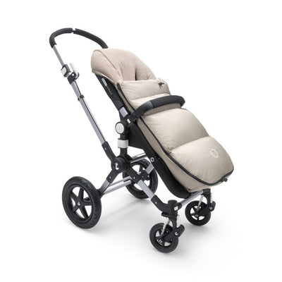 Bugaboo High Performance Footmuff in Arctic Grey on Stroller