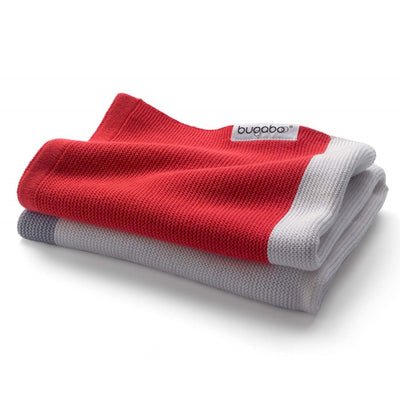 Bugaboo Light Cotton Blanket in Neon Red