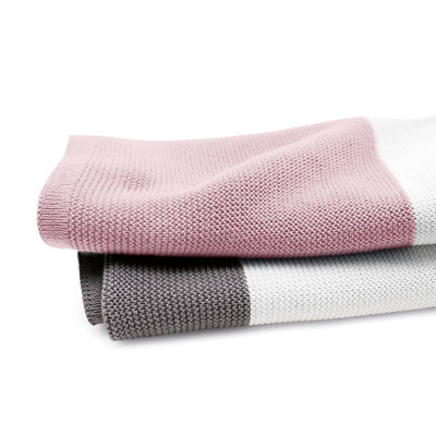 Bugaboo Light Cotton Blanket in Soft Pink