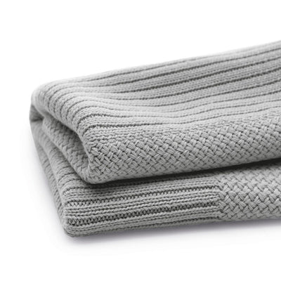 Bugaboo Soft Wool Blanket in Light Grey Melange