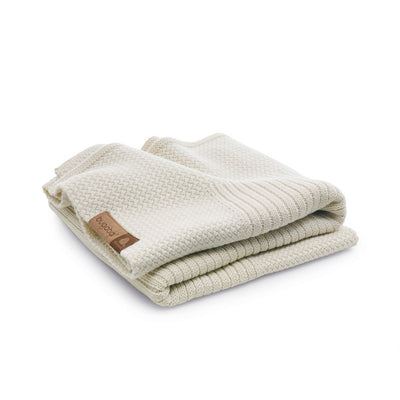 Bugaboo Soft Wool Blanket in Off-White Melange