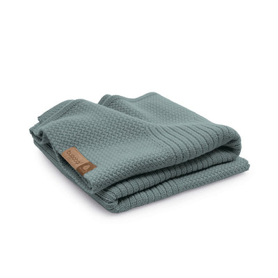 Bugaboo Soft Wool Blanket in Petrol Blue Melange