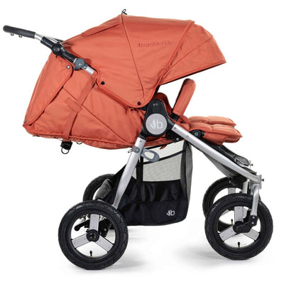 Bumbleride 2020 Indie Twin Stroller in Clay side view