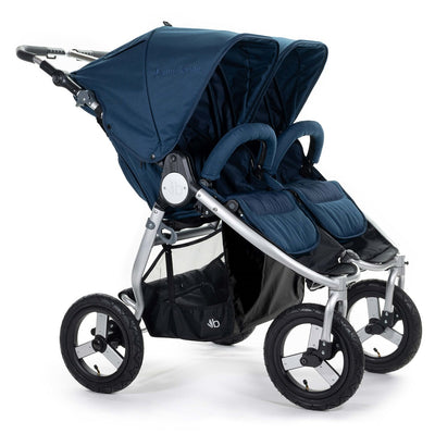 Bumbleride 2020 Indie Twin Stroller in Maritime Blue