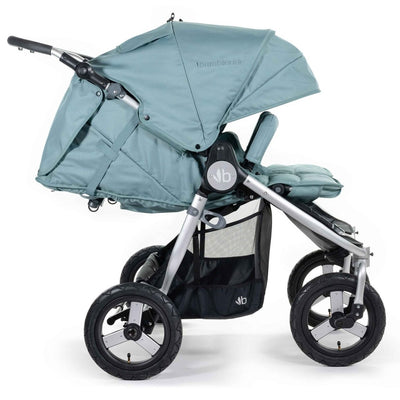 Bumbleride 2020 Indie Twin Stroller in Sea Glass side view